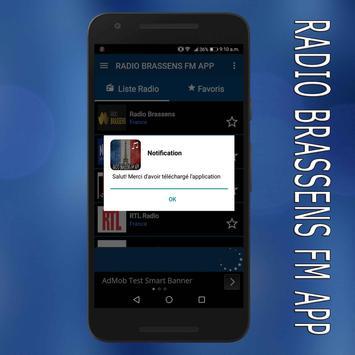 radio Brassens fm:Brassens radio en ligne app screenshot 6