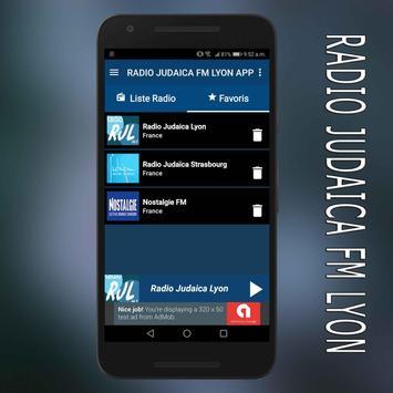 radio judaica fm lyon en ligne gratuit app poster