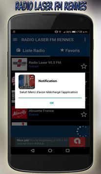 radio laser fm Rennes direct gratuit app screenshot 6