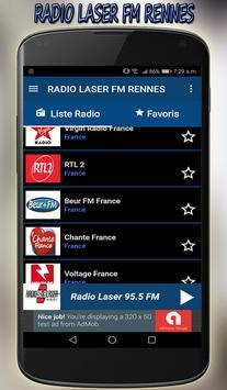 radio laser fm Rennes direct gratuit app screenshot 7