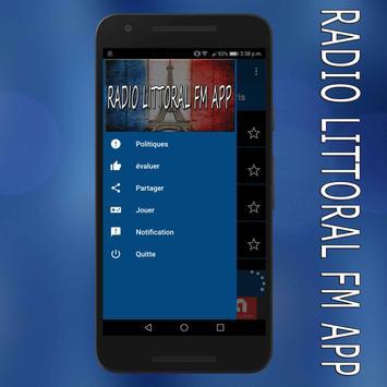 radio littoral fm en ligne gratuit app screenshot 3
