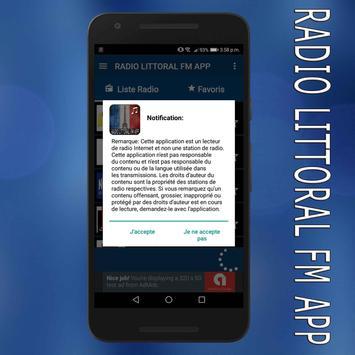 radio littoral fm en ligne gratuit app screenshot 2