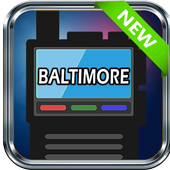 Baltimore Police Scanner City Police Scanner App icon