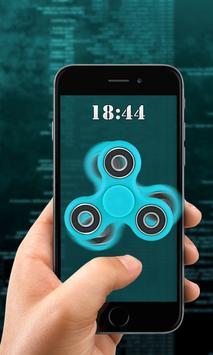 Fidget Spinner Finger Print Lock Prank apk screenshot