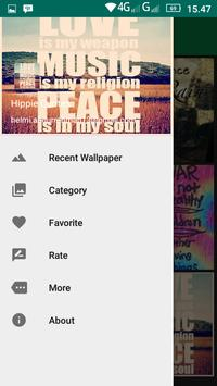 Hippie Quotes apk screenshot