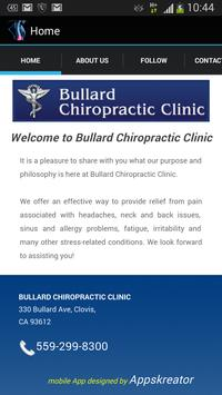 Bullard Chiropractic Clinic poster