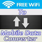 Wifi To Mobile Data Converter Simulator icon