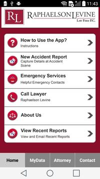 Raphaelson & Levine Injury App apk screenshot