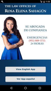 RosaElena SahagúnApp accidente poster