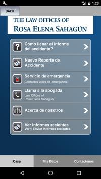 RosaElena SahagúnApp accidente apk screenshot