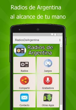 Radios de Argentina poster