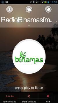 Radio Binamas FM screenshot 1