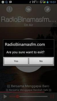 Radio Binamas FM screenshot 2