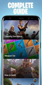 Guide for Fortnite Battle Royale poster
