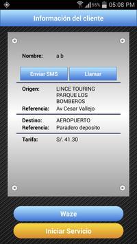 TaxiLeal Peru Taxista screenshot 3