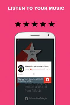 Audio Player MP3 Free apk screenshot