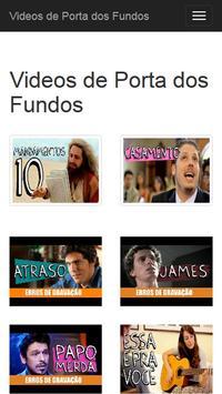 Videos de Porta dos Fundos poster