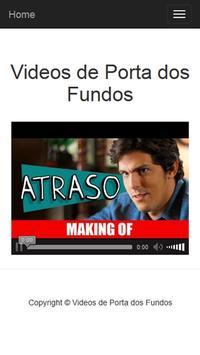 Videos de Porta dos Fundos screenshot 2