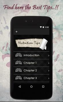 Nutrition Tips screenshot 1