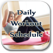Daily Workout Schedule Guide icon