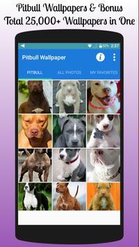 Pitbull Wallpaper Free poster