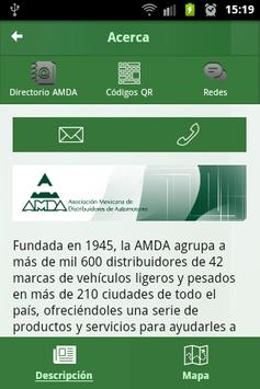 AMDA Móvil screenshot 1
