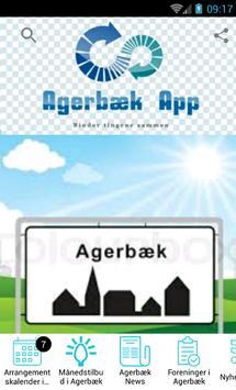 Agerbæk App poster