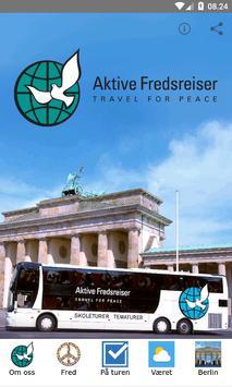 Aktive Fredsreiser poster