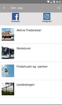 Aktive Fredsreiser screenshot 1