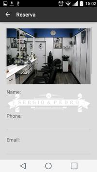Sergio Barbershop apk screenshot