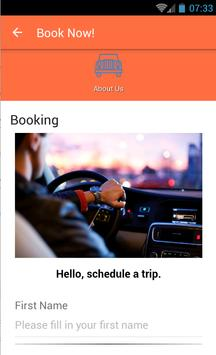 TaxiRide apk screenshot