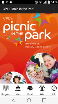CPL Picnic in the Park poster