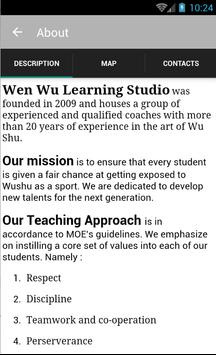 Wen Wu Learning Studio screenshot 1