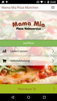 Mama Mia Pizza München poster