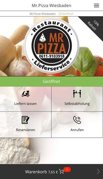 Mr.Pizza Wiesbaden poster