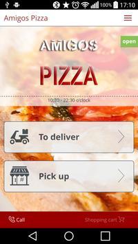 Amigos Pizza poster