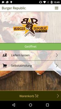 Burger Republic poster