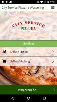 City Service Pizza Wesseling poster