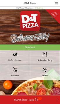 D&T Pizza poster