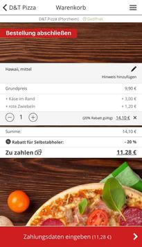D&T Pizza apk screenshot