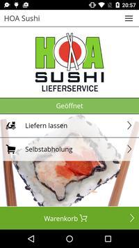 HOA Sushi poster