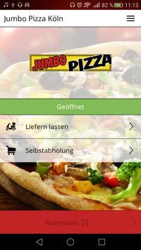 Jumbo Pizza Köln poster