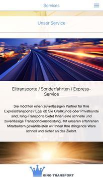 King Transport screenshot 2