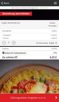 LieferServiceL'Italiano apk screenshot