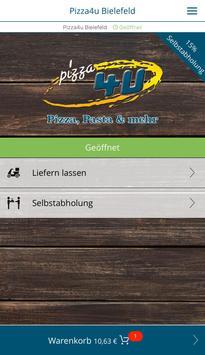 Pizza4u Bielefeld poster