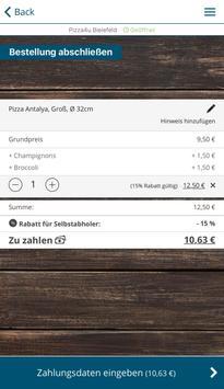 Pizza4u Bielefeld screenshot 1