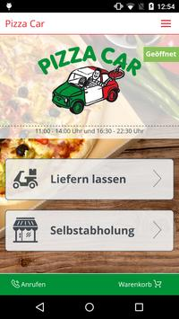 Pizza Car poster