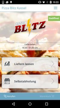 Pizza Blitz Kassel poster
