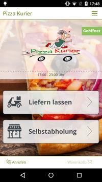 Pizza Kurier poster