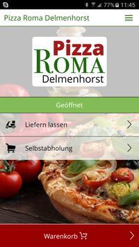 Pizza Roma Delmenhorst poster